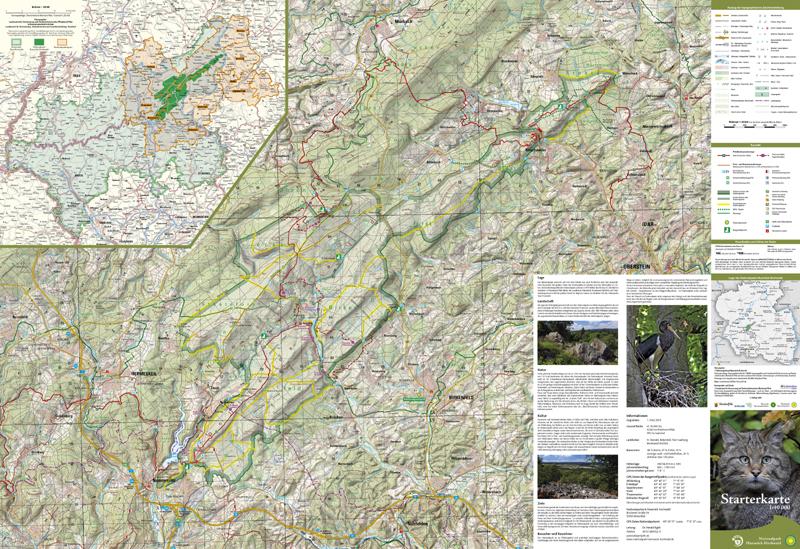 Hunsrück Hochwald Karte.Nationalparkgemeinde Neuhütten